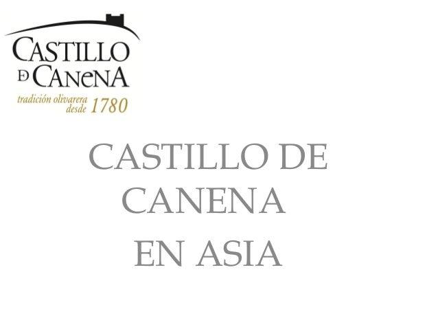 CASTILLO DE CANENA  EN ASIA