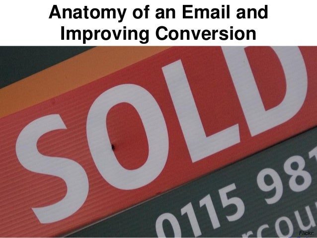 Flickr: Anatomy of an Email and Improving Conversion