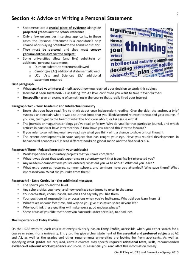 ucas personal statement tutor2u