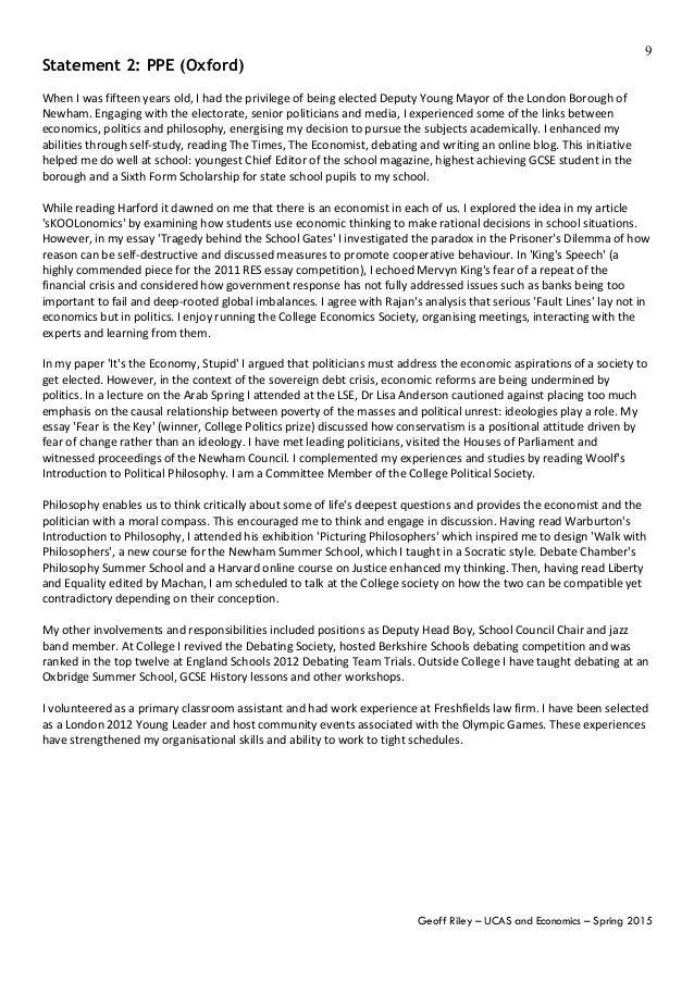 history personal statement oxbridge