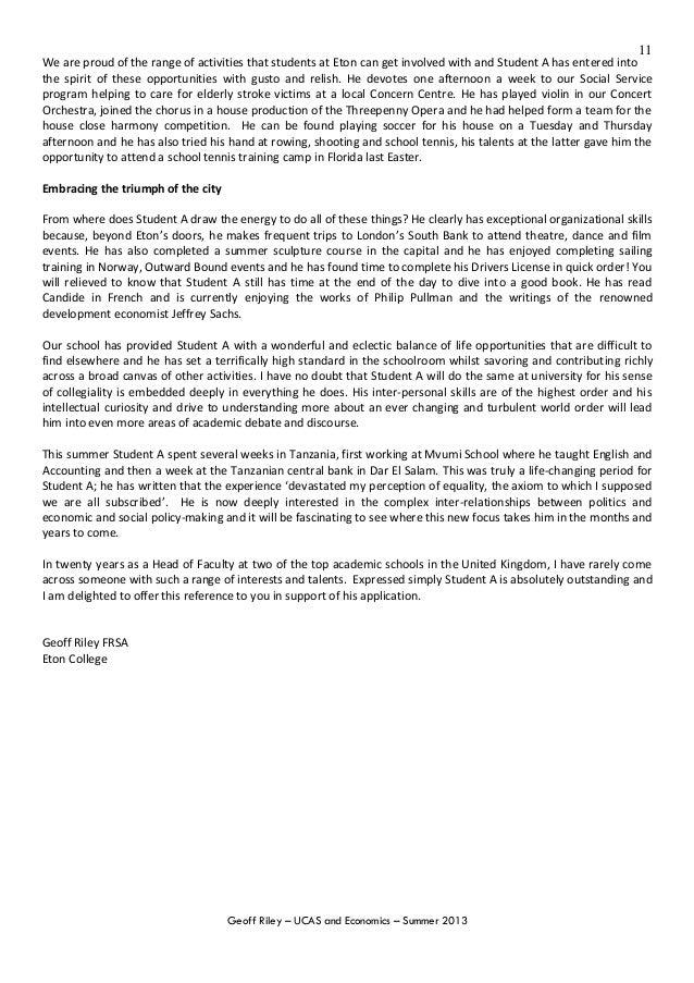 cambridge saq additional personal statement example