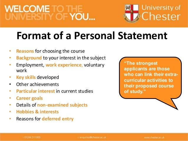 Personal statement conclusion ucas