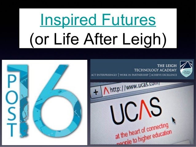 Inspired Futures (or Life After Leigh)