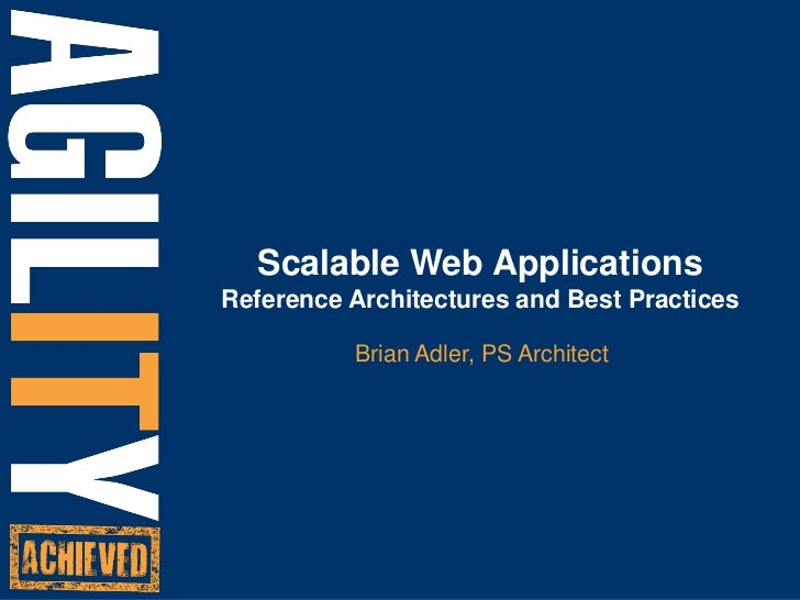 Building Scalable Websites for the Cloud