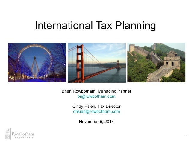 International Tax And Estate Planning Discussion Post – Coursework Example