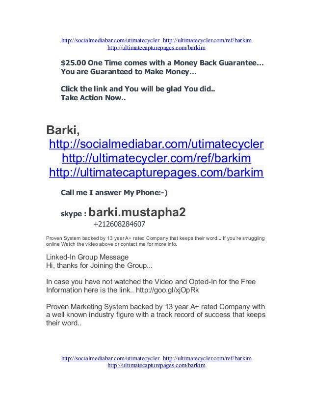 Ultimate Cycler 2013 Slide 2