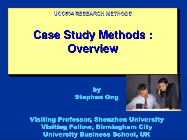 case study qualitative research