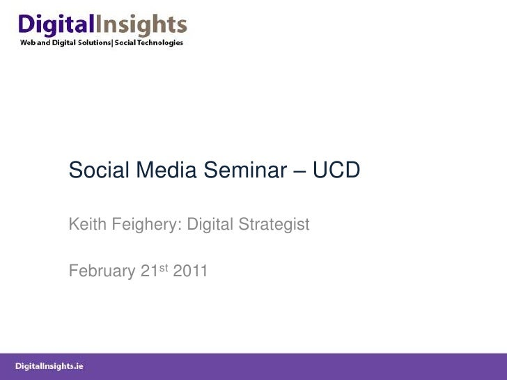 UCD-Social-Media-Workshop-Feb2011