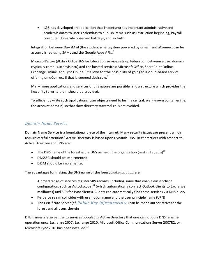 Uc Davis Academic Calendar.Uc Davis Active Directory Unified Communications Design Whitepaper