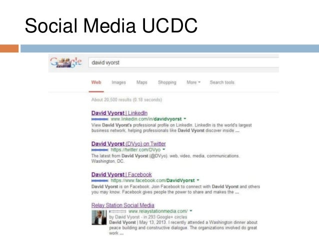 social media ucdc who am i - How Linkedin May Help You Find A Job And Advance Your Career