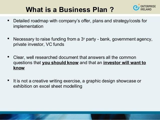 Dublin enterprise board business plan