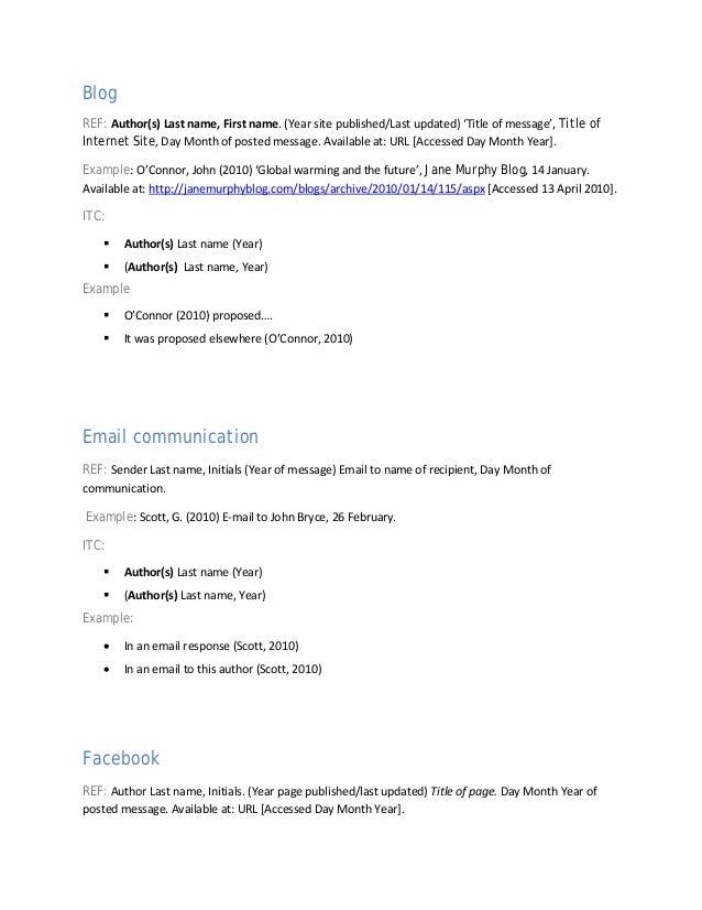 harvard citation rules