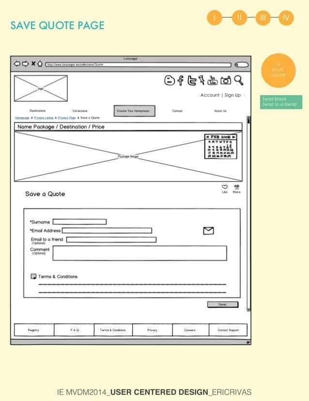User Centered Design - User Scenario
