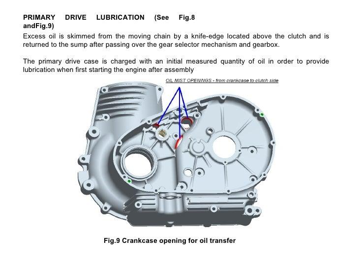 Royal Enfield UCE Lubrication – Royal Enfield 500 Engine Diagram