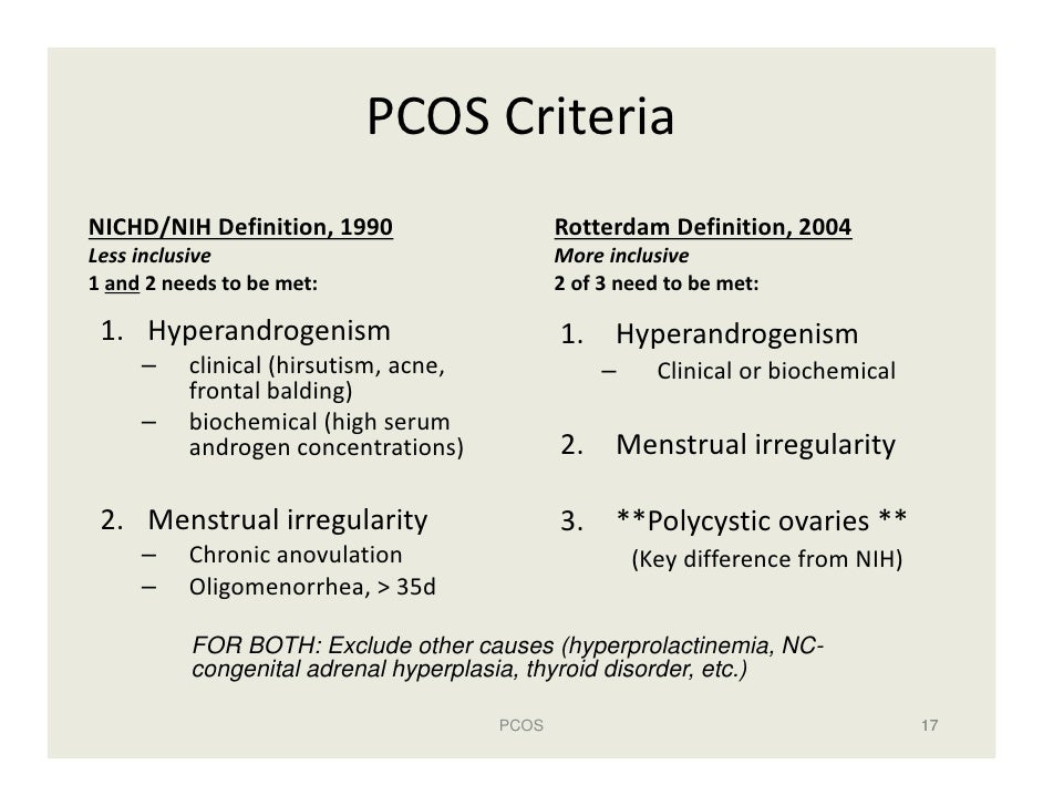 polycystic ovary syndrome pcos Meaning Of Term Idiopathic