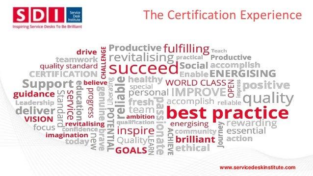 Blueprint for a brilliant service desk UCISA15