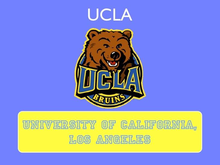 UCLAUniversity of California,      Los Angeles
