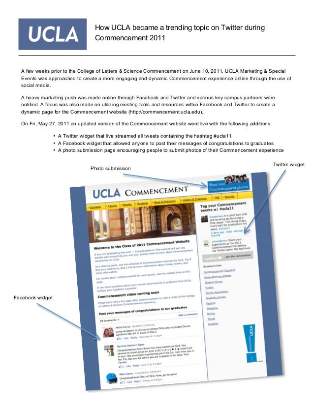A few weeks prior to the College of Letters & Science Commencement on June 10, 2011, UCLA Marketing & Special Events was a...