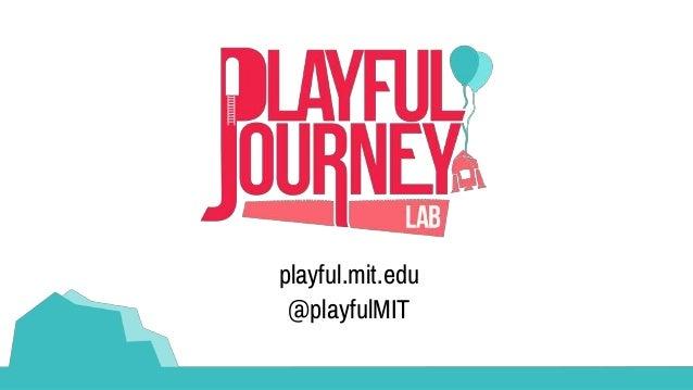 playful.mit.edu @playfulMIT