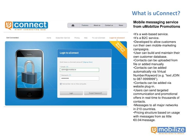 uConnect Text Message Marketing