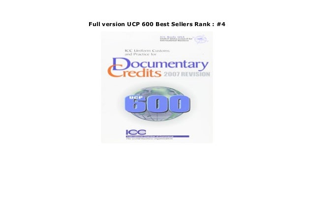 Full version UCP 600 Best Sellers Rank : #4 https://sold-mahdi.blogspot.ru/?book=928421257X For almost 80 years, the Unifo...