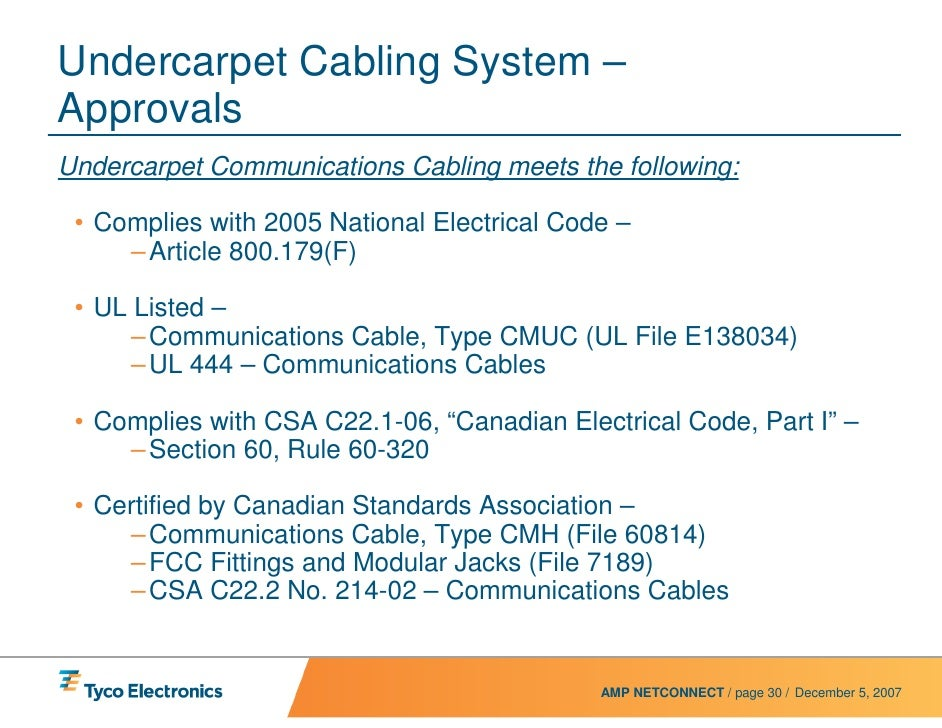 Type Fcc Flat Conductor Cable : Uc power system presentation rev web