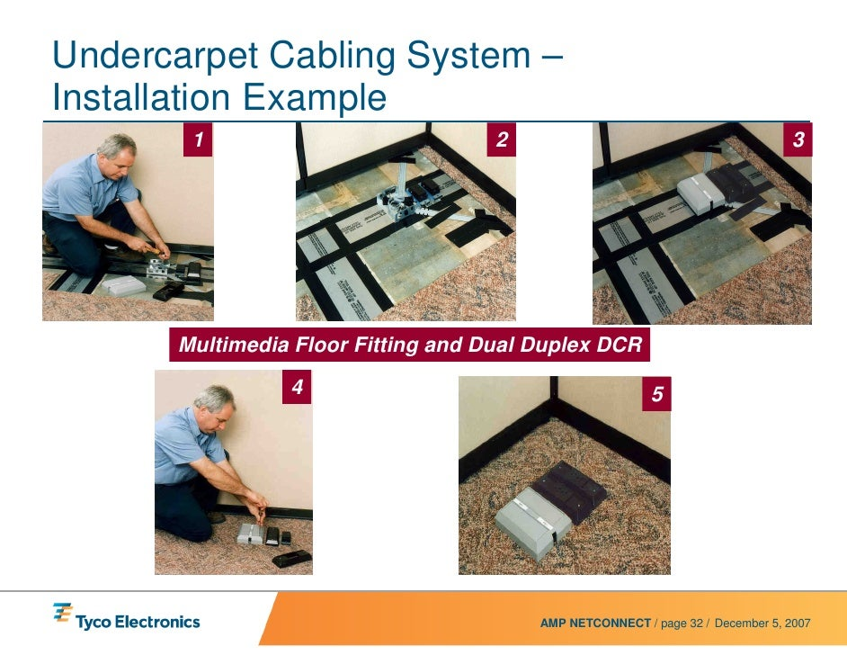 uc power system presentation rev4 web rh slideshare net under carpet wiring systems manufacturers undercarpet wiring systems