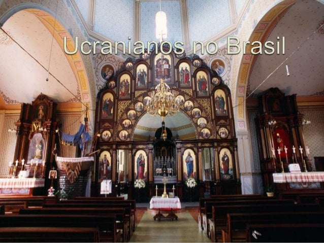 A  imigração de ucranianos para o Brasil começou efetivamente nos anos de 189596 e e a motivação foi o emprego na constru...