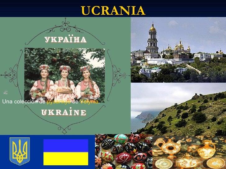 UCRANIA            Una colección de  pysankys  de  Volynia .