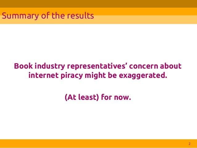 Internet pirates will always win