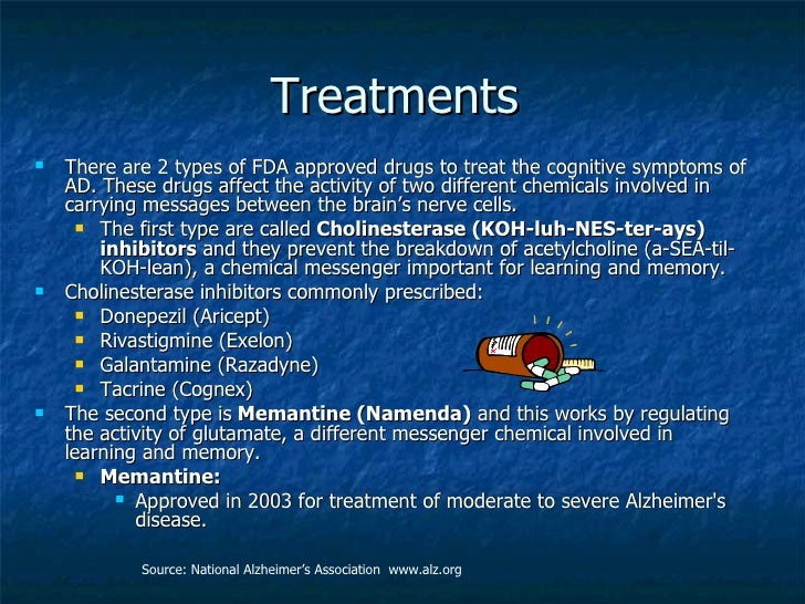 a definition and ways of treatment of alzheimers disease Treatment of behavioral problems with antipsychotics is common but not usually the match-d criteria can help identify ways that a diagnosis of dementia changes medication management for and that alzheimer's disease was the appropriate term for persons with the particular.
