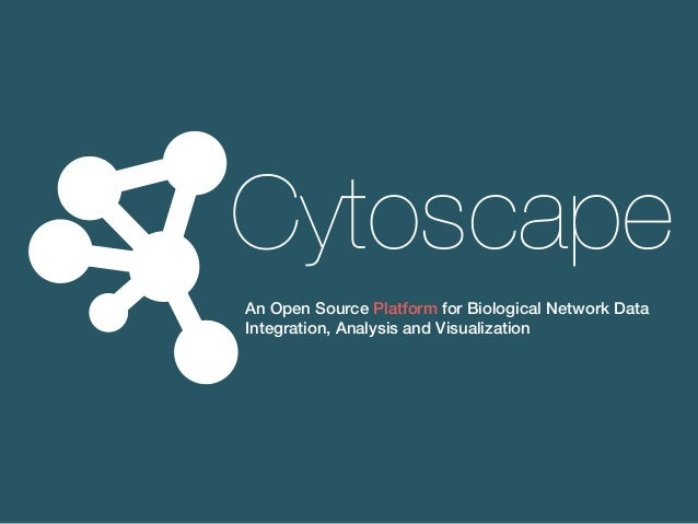 An Open Source Platform for Biological Network Data Integration, Analysis and Visualization Cytoscape