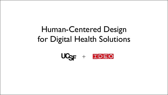 Human-Centered Design for Digital Health Solutions +