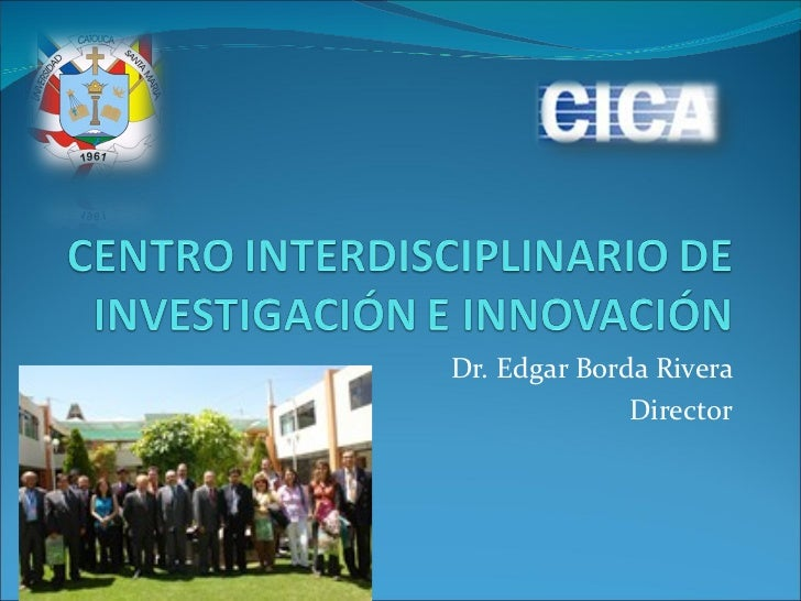 Dr. Edgar Borda Rivera Director