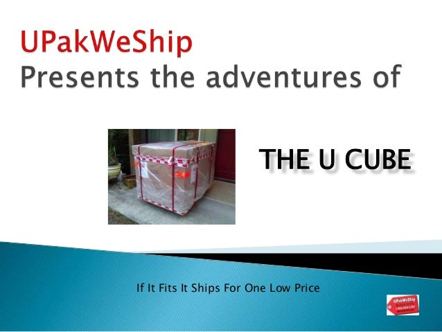 THE U CUBE If It Fits It Ships For One Low Price