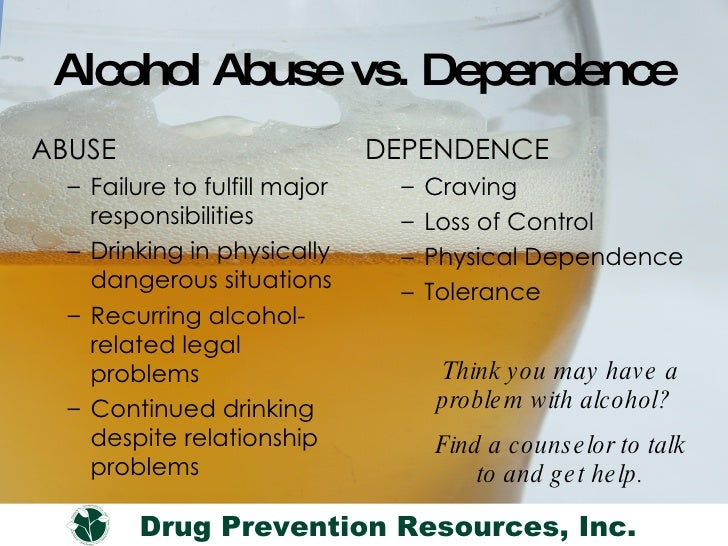 What Is Problem Drinking Vs Alcoholism
