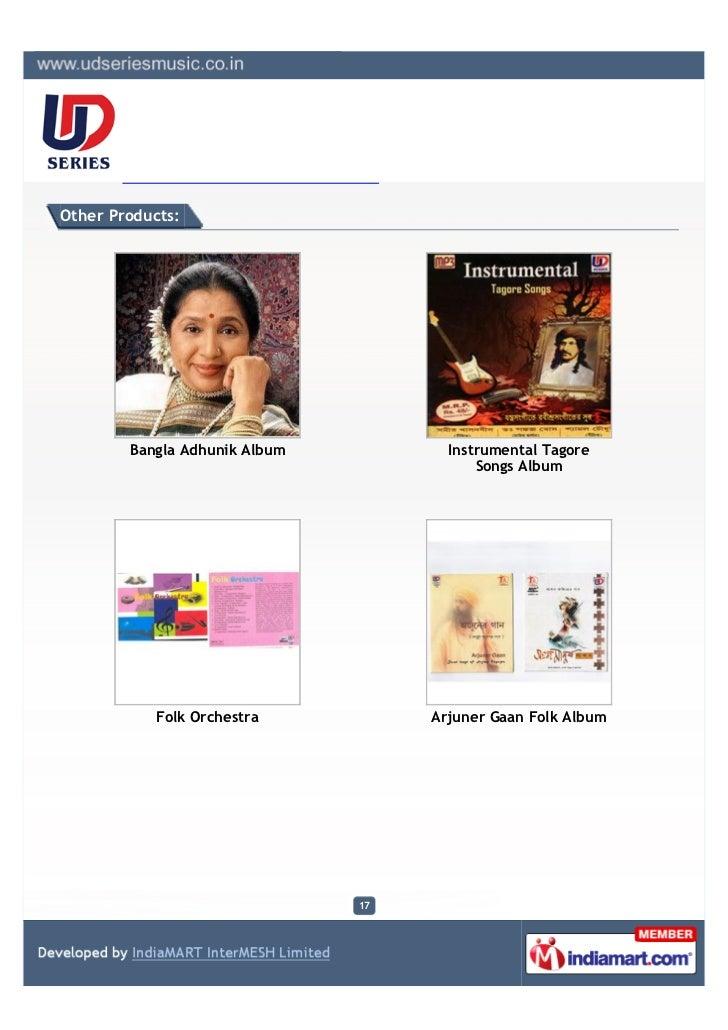 Other Products:        Bangla Adhunik Album          Instrumental Tagore                                          Songs Al...