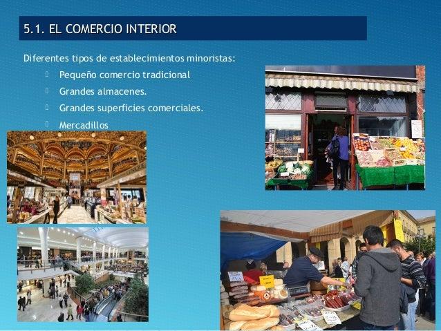 El sector terciario for Comercio exterior