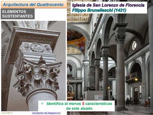 Ud 10 renacimiento arquitectura del quattrocento Arquitectura quattrocento caracteristicas