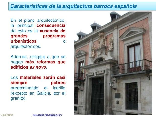 Ud 11 2 arquitectura barroca en españa