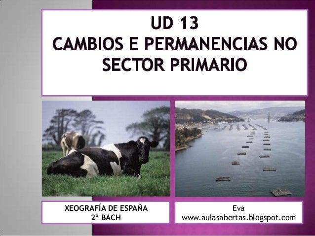 XEOGRAFÍA DE ESPAÑA               Eva     2º BACH          www.aulasabertas.blogspot.com