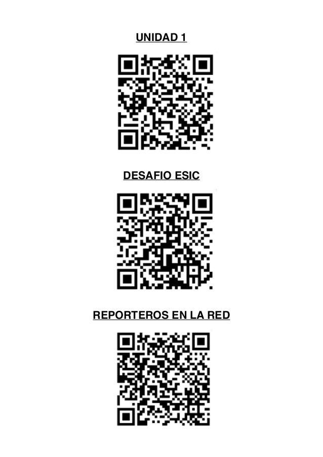 UNIDAD 1 DESAFIO ESIC REPORTEROS EN LA RED