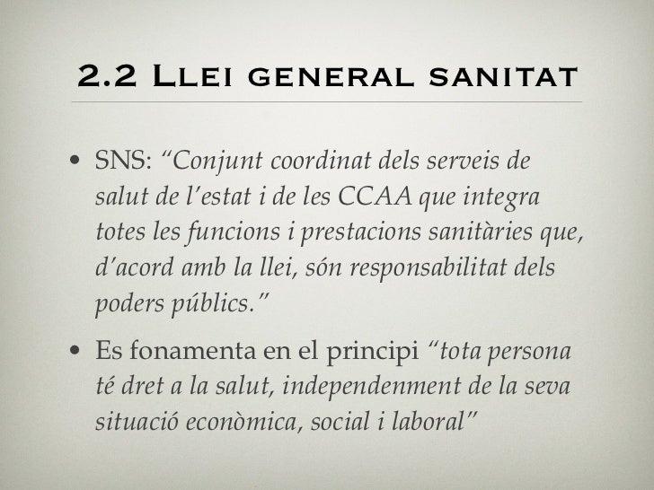 Títol preliminar   •      Artículo 1.1. La presente Ley tiene por objeto la regulación general de todas las acciones que p...