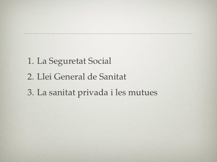 """2.1 Seguritat Social• Edat Mitjana: """"Societats d'auxili mutu""""• XVIII: Beneficiència pública• XIX: Crisi→Otto Von Bismarck• ..."""