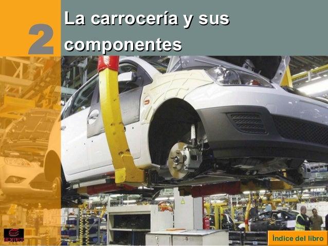 Índice del libro 2 La carrocería y susLa carrocería y sus componentescomponentes