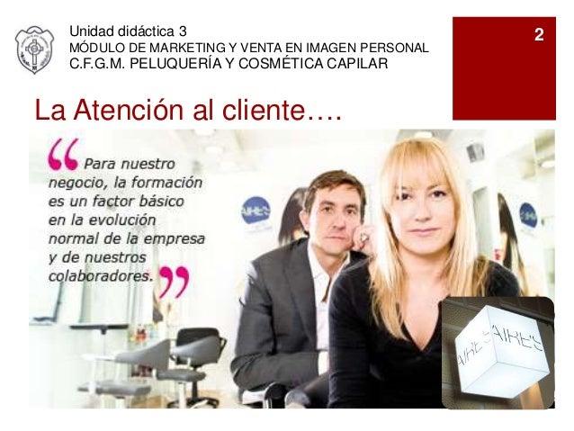 Ud3 atenci n al cliente for Atencion al cliente