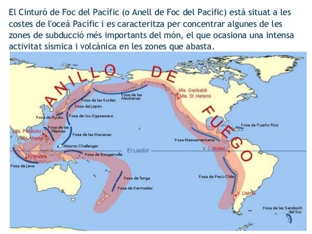 El Cinturó de Foc del Pacífic (o Anell de Foc del Pacífic) està situat a les costes de l'oceà Pacífic i es caracteritza pe...