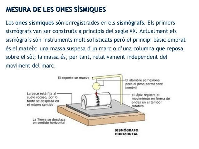 Les ones sísmiques són enregistrades en els sismògrafs. Els primers sismògrafs van ser construïts a principis del segle XX...