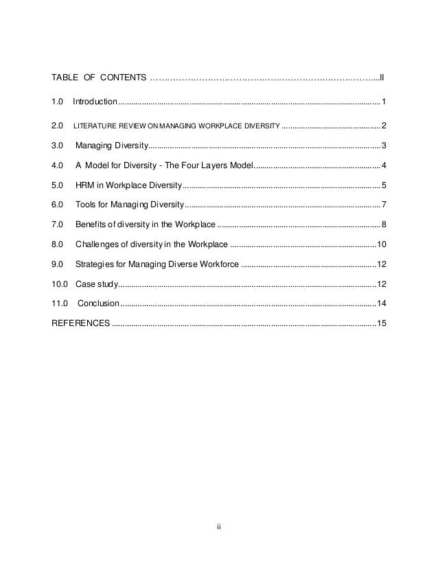 managing diversity 2 essay University of wollongong research online sydney business school - papers faculty of business 2009 diversity management in australia and its impact.