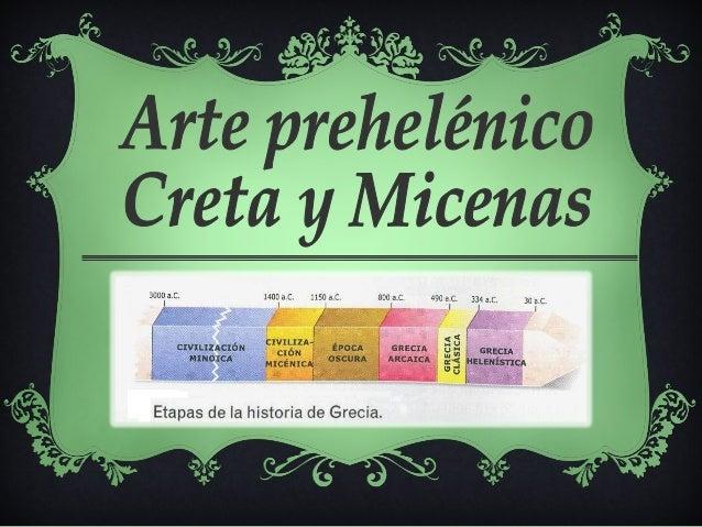 III – II milenio a.C.  Creta, península  Balcánica, islas del  mar Egeo y costas  occidentales de  Asia Menor.  Talasocrac...